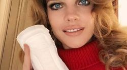 Pourquoi Natalia Vodianova pose-t-elle avec une serviette