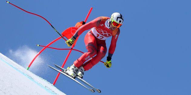 Les Canadiens ont peiné lors de la descente au Centre alpin
