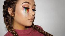 Le maquillage pour soutenir les victimes de la tragédie