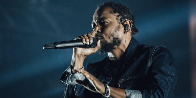 Kendrick Lamar lors du dernier Festival d'été de