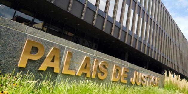 'Palais de Justice in Montreal,