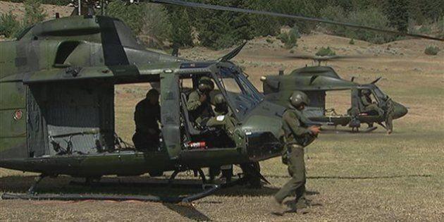 Des militaires de Valcartier en Irak pour contrer le groupe armé État