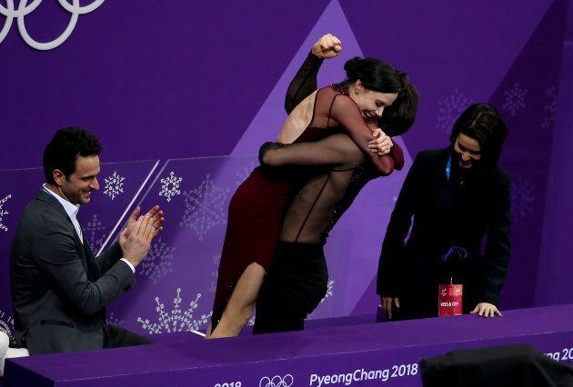 Tessa Virtue et Scott Moir parlent comme le plus mignon des couples