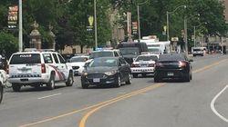 Plus de 10 édifices bouclés par la police au centre-ville de