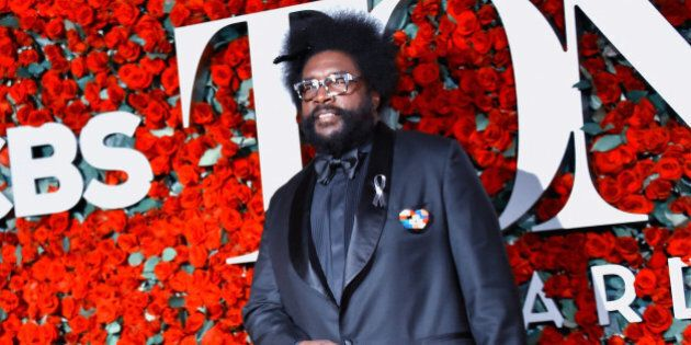 NEW YORK, NY - JUNE 12: (EDITOR'S NOTE: Image has been converted with a digital filter.) Questlove attends...