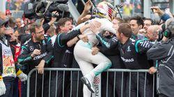 Lewis Hamilton remporte le Grand Prix du