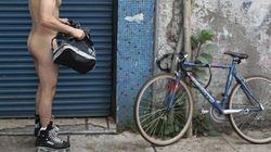 Mexique: des cyclistes nus pour dénoncer les dangers de la route