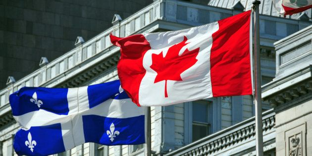 «Québécois, notre façon d'être Canadiens» : sous l'égide de la