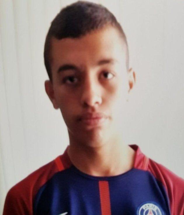 Steven Raux, un adolescent de 16 ans, manque à l'appel à