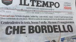 Cette Une au lendemain des législatives en Italie se passe de