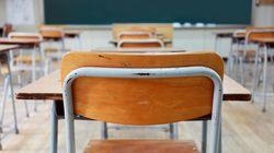 Le mot «nèg**» mentionné dans les devoirs d'une école