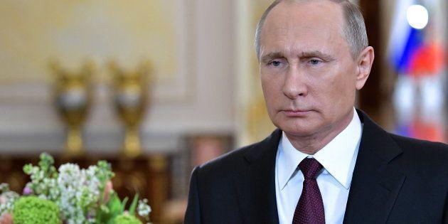 Le président de la Russie, Vlamidir