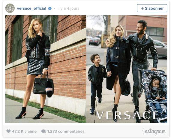 Versace aurait-elle commis un fashion faux
