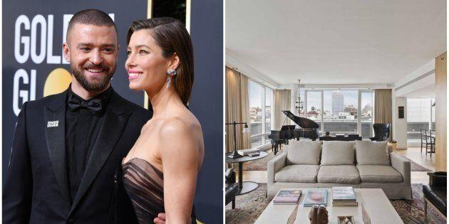 Le luxueux penthouse de Justin Timberlake et Jessica Biel pourrait être à