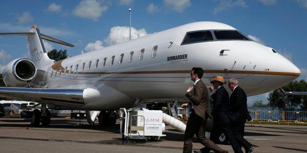 Le Canada exige qu'un jet utilisé une riche famille sud-africaine soit cloué au
