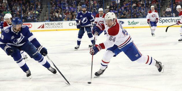 Le Canadien s'incline contre le