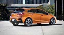 Essai routier Chevrolet Cruze hatchback2017: prête pour le