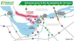 Conduire vers le centre-ville de Montréal sera une catastrophe cette fin de