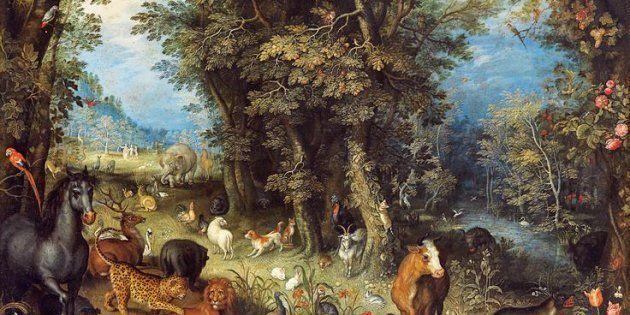 À la recherche du jardin d'Éden: un jardin d'Éden allégorique, l'arbre de la