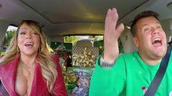 Un «Carpool Karaoke» de Noël pour vous mettre dans