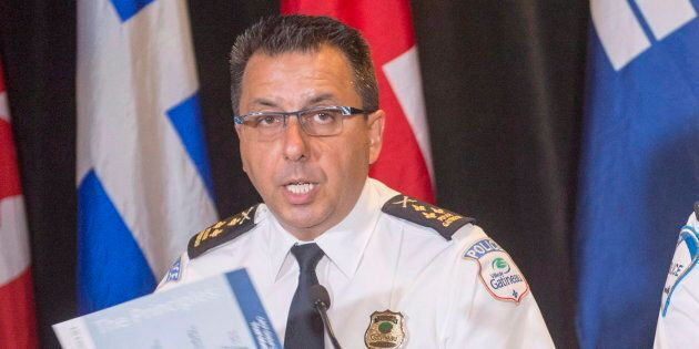 Photo d'archives du chef de police de la Ville de Gatineau, Mario