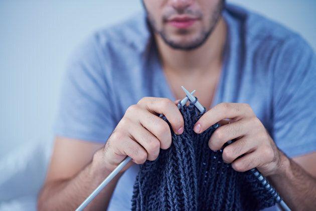 Le tricot réduirait les risques d'anxiété et de douleurs