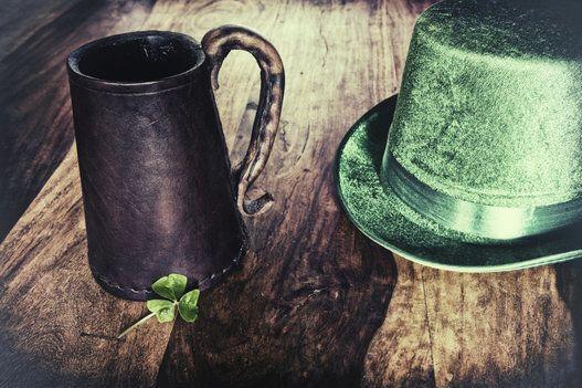 Boire à la Saint-Patrick? Non ce n'est pas vraiment le