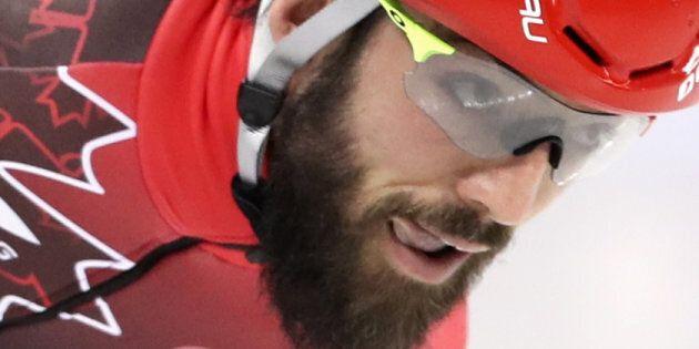 Charles Hamelin remporte l'or au 1500m aux Mondiaux de courte