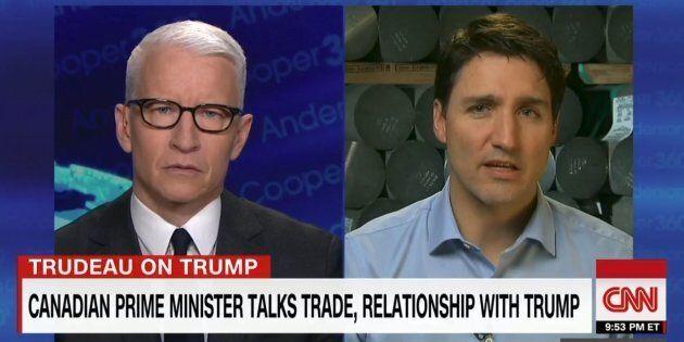 Trump est un homme qui tient parole, affirme Trudeau à