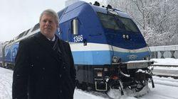 Trains: 450 M$ sur 5 ans pour réduire les