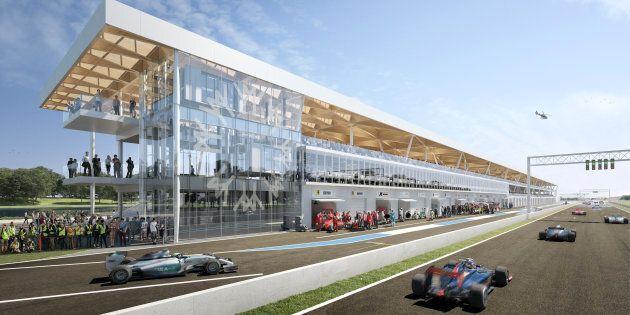 Le remplacement des paddocks de la Formule 1 coûtera beaucoup plus cher que