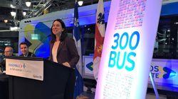 Montréal achètera 900 autobus pour 1,35 milliard
