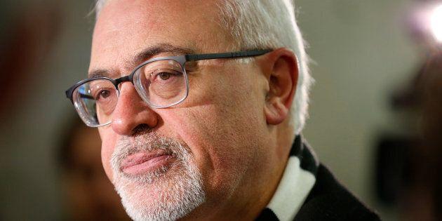 Carlos Leitão a tenu ses propos en entrevue avec le quotidien Montreal Gazette, la semaine dernière. L'article a été publié le 14 mars 2018.