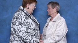 Deux arrière-grands-mères célèbrent 50 ans de vie de