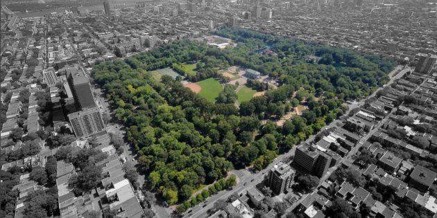 Un nouveau plan pour redonner au parc La Fontaine son lustre
