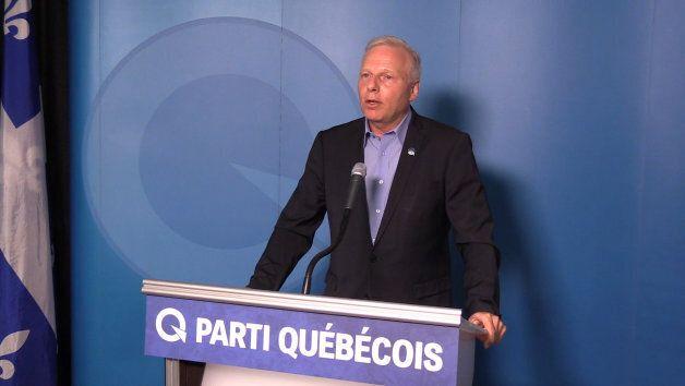 Le chef du Parti québécois, Jean-François