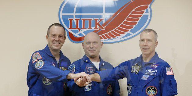 Un astronaute canado-américain part pour la Station spatiale