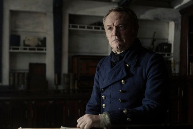 Jared Harris dans le rôle du capitaine du HMS Terror, Francis