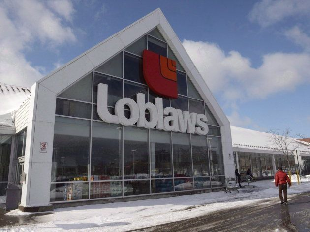 A Loblaws store is seen March 9, 2015 in