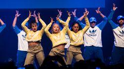 Voici les meilleures images du passage du Royal Family Dance Crew à