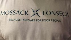 Le t-shirt Panama Papers est