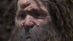 L'homme de Cro-Magnon avait le visage couvert de