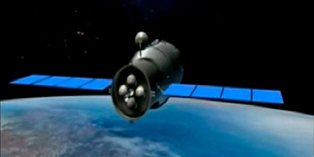 La désintégration de la station spatiale chinoise attendue dans la nuit de dimanche à