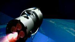 La station spatiale chinoise «globalement détruite» au-dessus du Pacifique