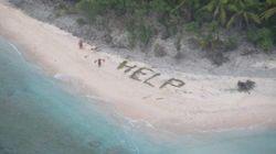 Le sauvetage de ces trois marins sur une île déserte est digne d'un