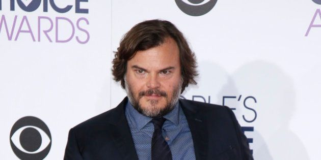Actor Jack Black arrives at the People's Choice Awards 2016 in Los Angeles, California January 6, 2016....