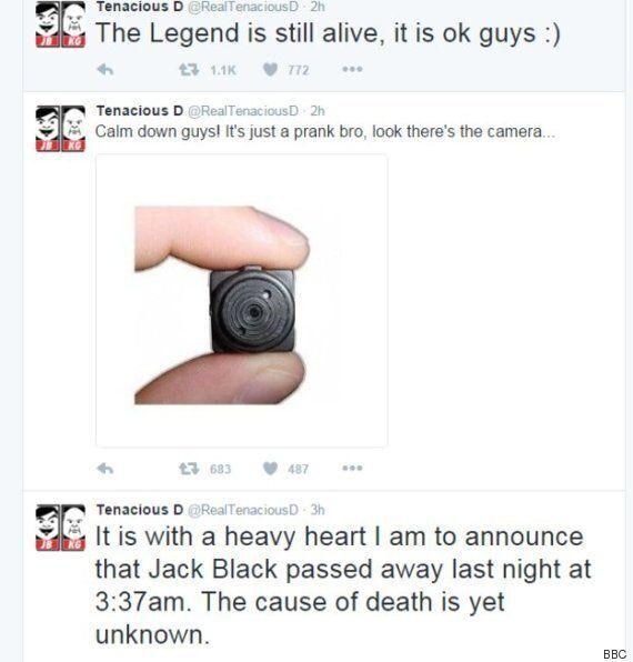 Après avoir fait croire que Jack Black était mort, ce pirate informatique nargue les