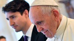 Pensionnats autochtones: Trudeau «très déçu» par le pape