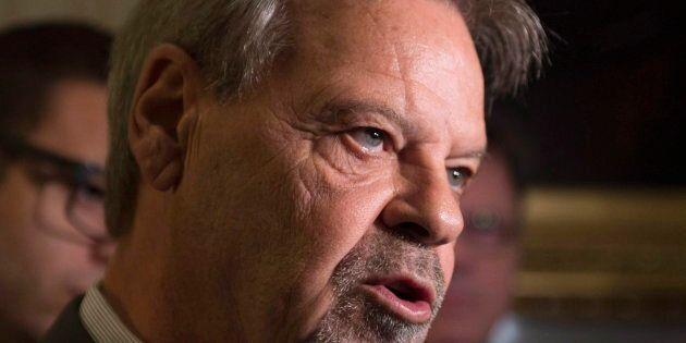 André Spénard a été élu pour la première fois en