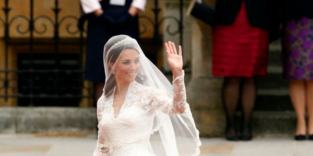 La version à bas prix de la robe de mariage de Kate Middleton en